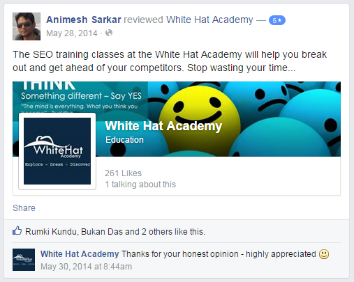 The SEO training classes at the White Hat Academy will help you break out and get ahead of your competitors. Stop wasting your time...
